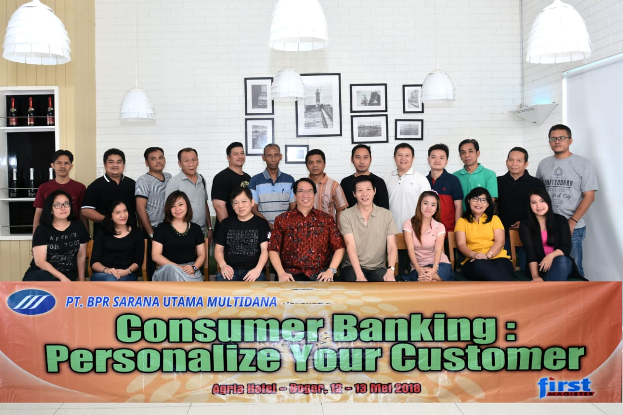 In House Training Consumer Banking : Personalize Your Customer
