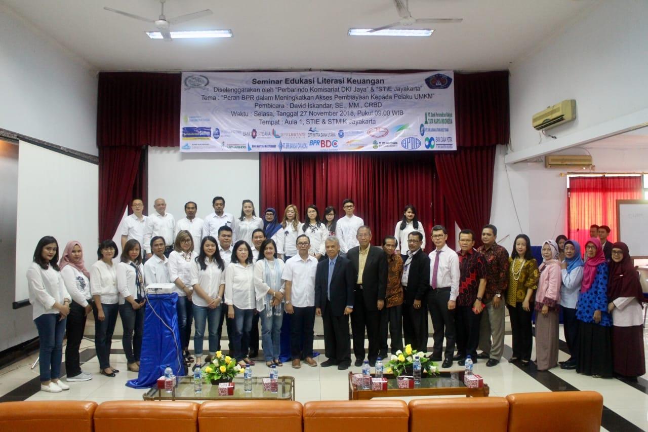 Seminar Edukasi Literasi Keuangan